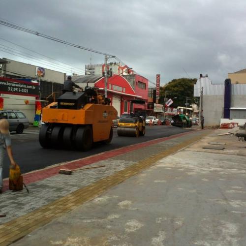 Prefeitura São José dos Campos – Adequação viária Rua Paraibuna