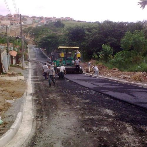 Prefeitura Jacarei – Pavimentação asfáltica Bairro Cidade Salvador