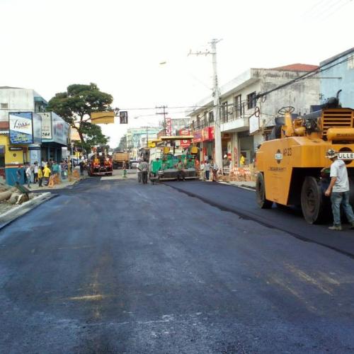 Prefeitura Jacarei – Pavimentação Av. Siqueira Campos