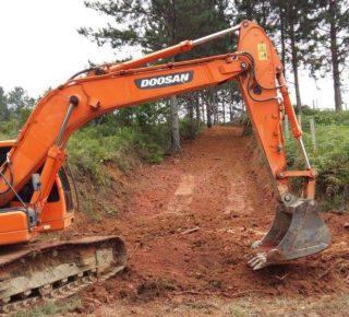 Escavadeira DX 180 Doosan