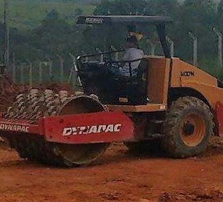 Rolo compactador CA152 D Dynapac
